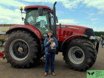 Robert, Charlie and a Case IH Puma 230 CVX