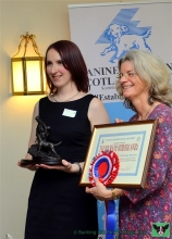 The Volunteering Hub at Royal Edinburgh Hospital, winners of the Iain Whyte Memorial Award