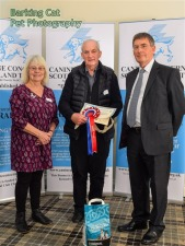 Patron Rosemary Long, Volunteer Bert Muir and CCST Chairman Allan Sim